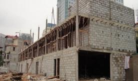 Công trình sử dụng gạch không nung công nghệ sản xuất gạch DmCline