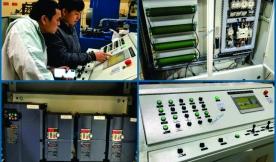 HD sửa chữa hệ thống điện và thủy lực trong dây chuyền máy ép gạch bê tông