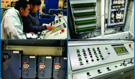 Instructions for repairing electrical and hydraulic systems in the concrete block production line
