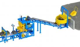 Dây chuyền sản xuất gạch không nung / Máy làm gạch bê tông