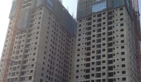 Tòa nhà chung cư cao tầng được xây bằng gạch không nung công nghệ sản xuất DmCline