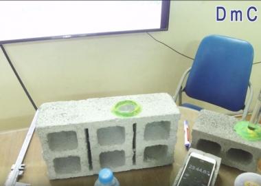 [DmCline Others] Thí nghiệm độ chống thấm của gạch không nung