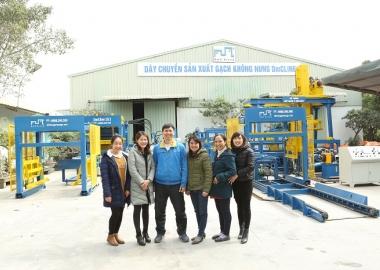 Sinh nhật DmC lần thứ 11 || Nhà sản xuất máy gạch không nung