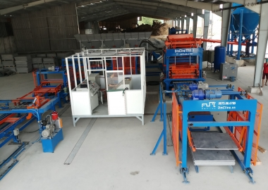 [DmCline Products] Dây chuyền sản xuất gạch không nung D10.3