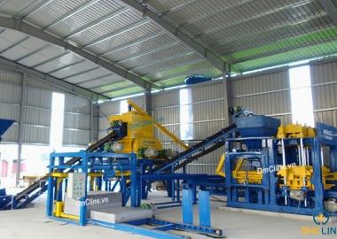 [DmCline Products] Dây chuyền sản xuất gạch không nung D12