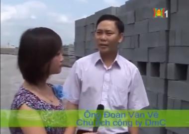 [DmCline News] Gạch không nung và cuộc sống xanh