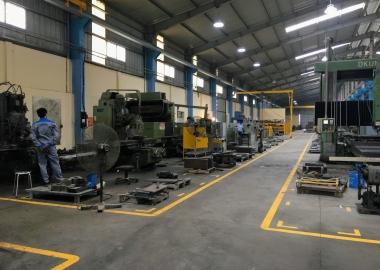 Hệ thống tách gạch thu khay và xếp gạch tự động công ty đoàn minh công (DmC) sản xuất