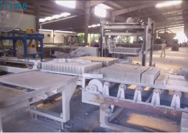 [DmCline Products] Máy tách xếp gạch không nung