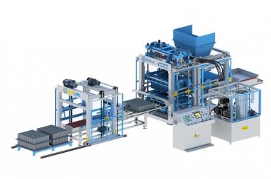 Dây chuyền sản xuất gạch không nung D12.4