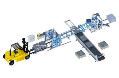 Concrete block separation machine DMCLINE
