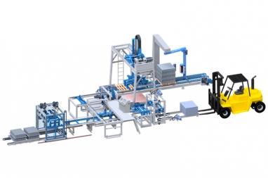 Máy xếp gạch không nung DmCline, máy gắp gạch xếp được trên 50 loại gạch, tự động 100%, Giá Rẻ