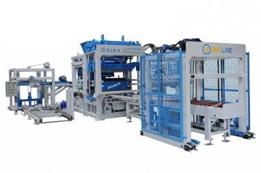 D10 Concrete Block Making Machine