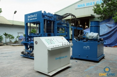 D8 Concrete Block Making Machine