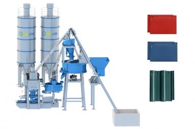 dây chuyền sản xuất ngói xi măng màu chất lượng cao