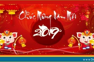 DmC chúc mừng năm mới Kỷ Hợi 2019