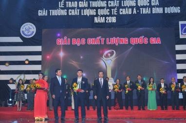 DmC đạt giải thưởng CHẤT LƯỢNG QUỐC GIA