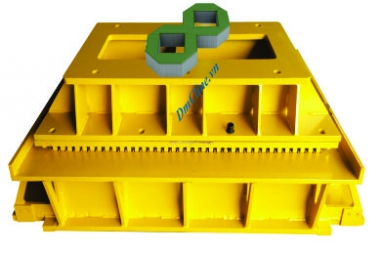 Grass paving block mould