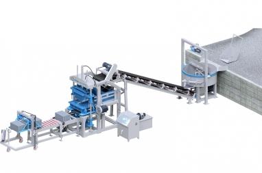 P700 Mould Vibration Concrete Block Making Machine