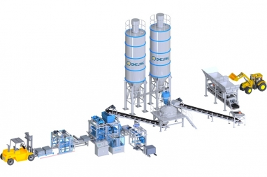 Dây chuyền sản xuất gạch không nung D4