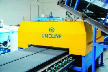 Single lane of automatic wall panel production line