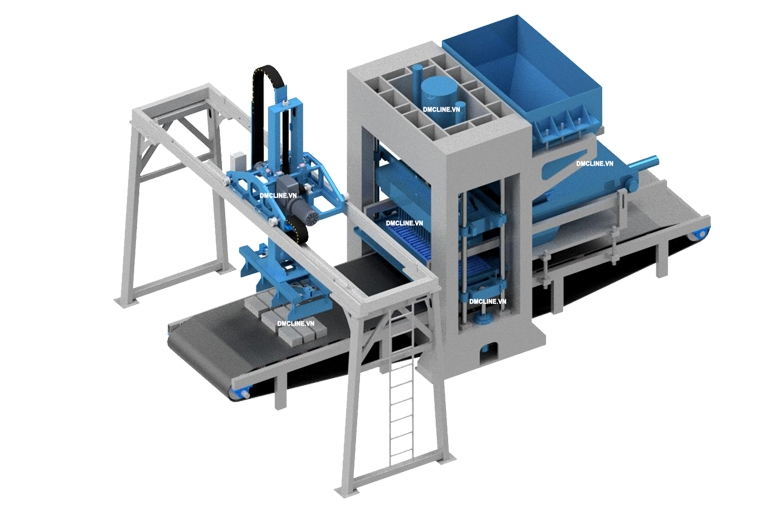 Fly ash bricks machine F9