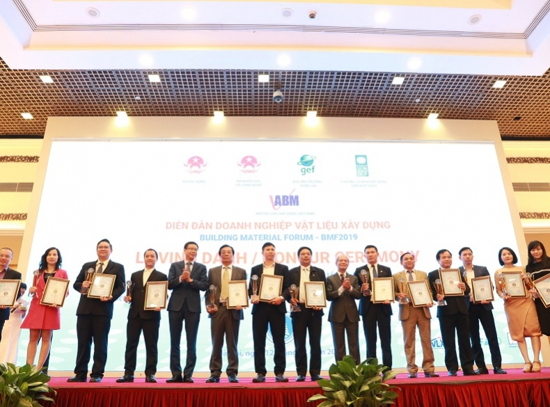 "DMC is honored to achieve the title ""Best practices in Production and Utilization of Non-Fired Building Materials – Green materials for Green Life"""