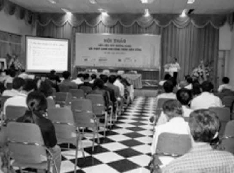 Công nghệ sản xuất gạch không nung DMCLINE được công bố tại hội thảo