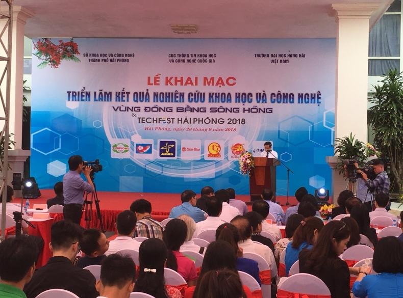 DmC tham dự Techfest Hải Phòng 2018