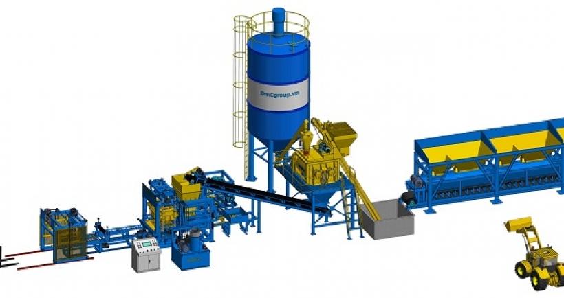 công nghệ dây chuyền sản xuất gạch không nung DmCline