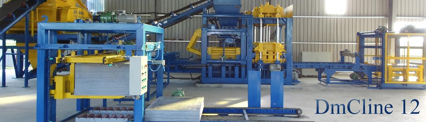 Dây chuyền sản xuất gạch không nung DmCline uy tín, chất lượng quốc tế