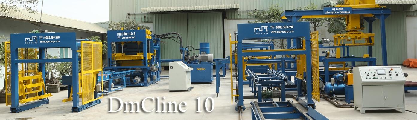 Dây chuyền sản xuất gạch không nung DmCline D10 chất lượng đạt chuẩn quốc tế, giá rẻ
